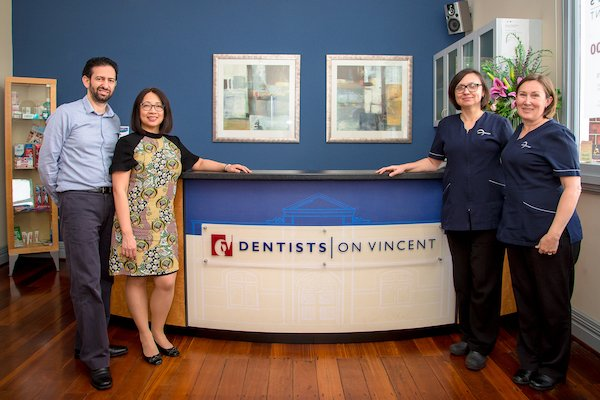 Dentists on Vincent Dentist Leederville Dentists with Staff
