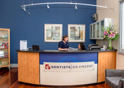 Dentists on Vincent Dentist Leederville Reception Area