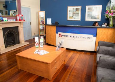 Dentists on Vincent Dentist Leederville Waiting Area