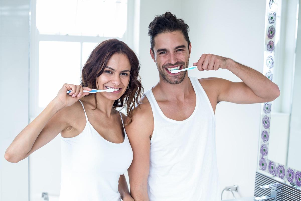 at-home care for teeth bonding